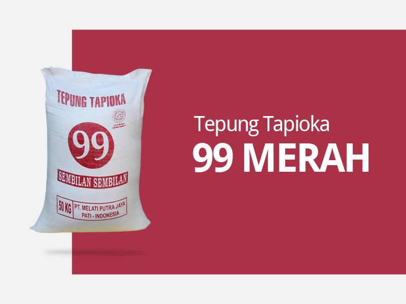 Brand pabrik tepung tapioka 99 merah