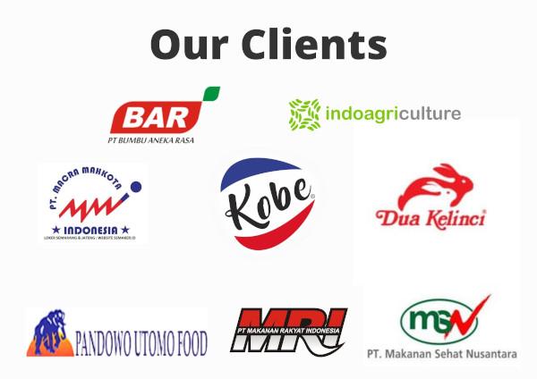Klien pabrik tepung kanji PT Melati Putra Jaya