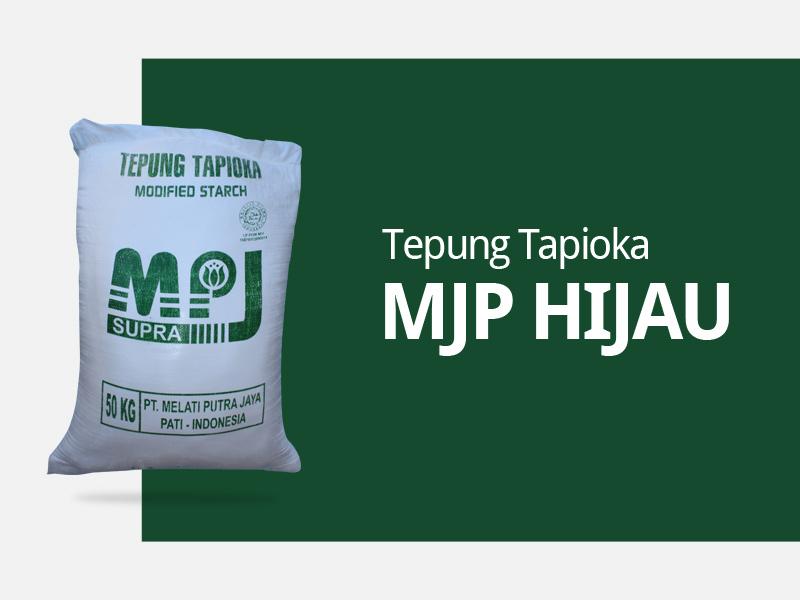 Produksi tepung kanji merk mpj hijau
